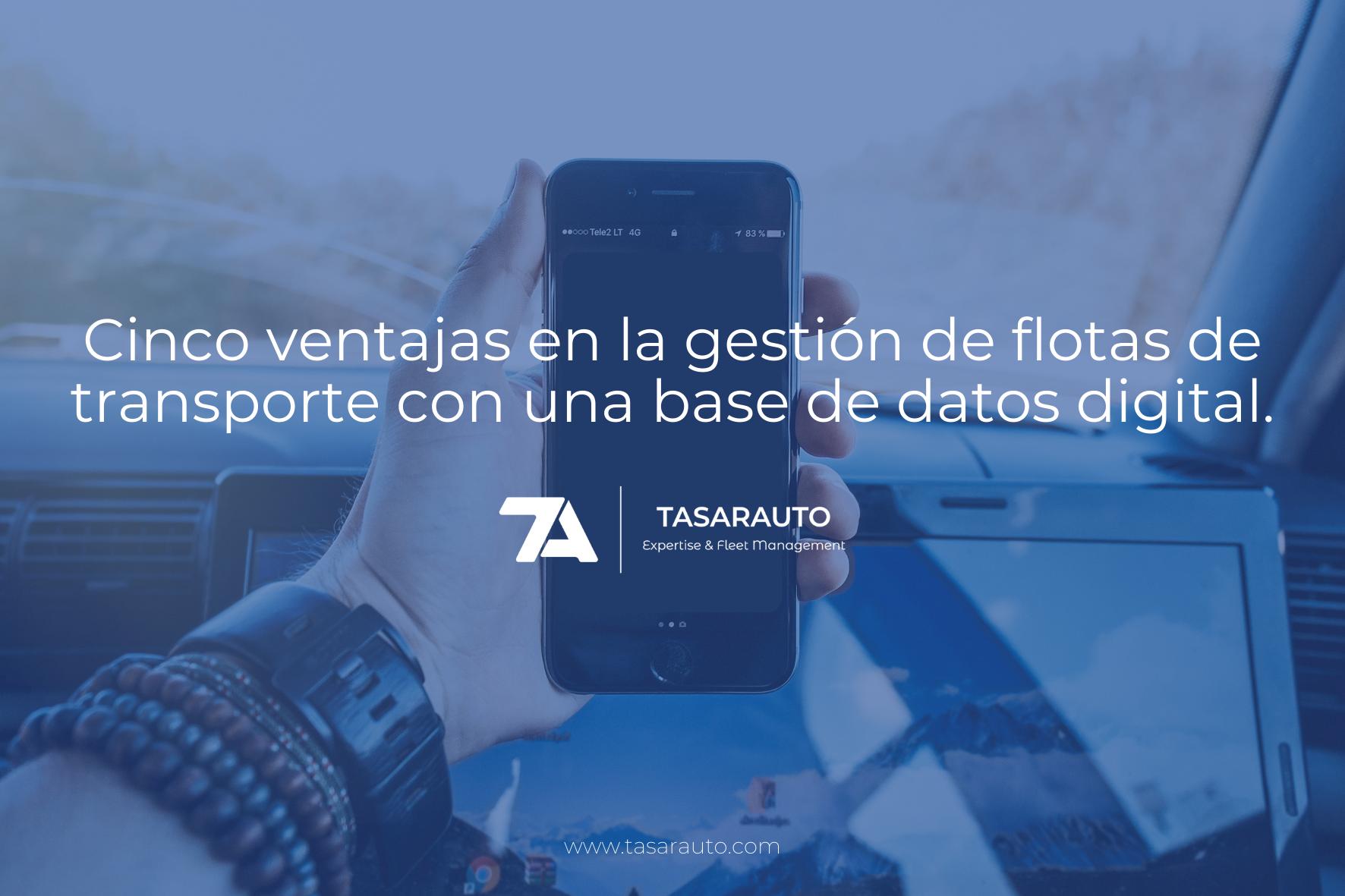 Cinco Ventajas En La Gestión De Flotas De Transporte Con Una Base De Datos Digital.